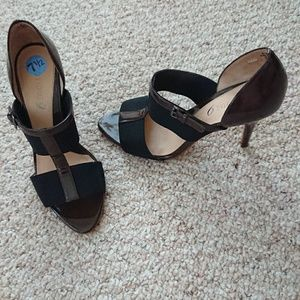 boutique 9 dark brown heels